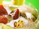 Рецепта Мус от киви със заквасена сметана